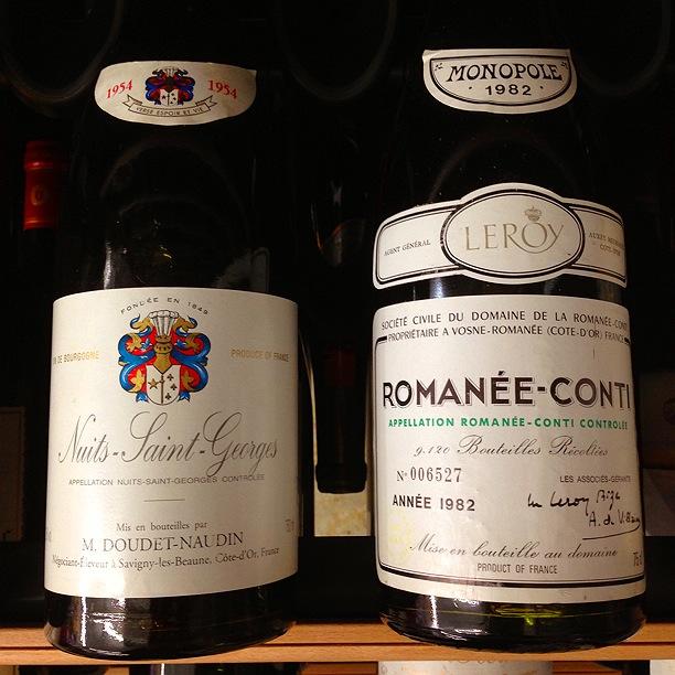 ロマネコンティなど高級ワインも
